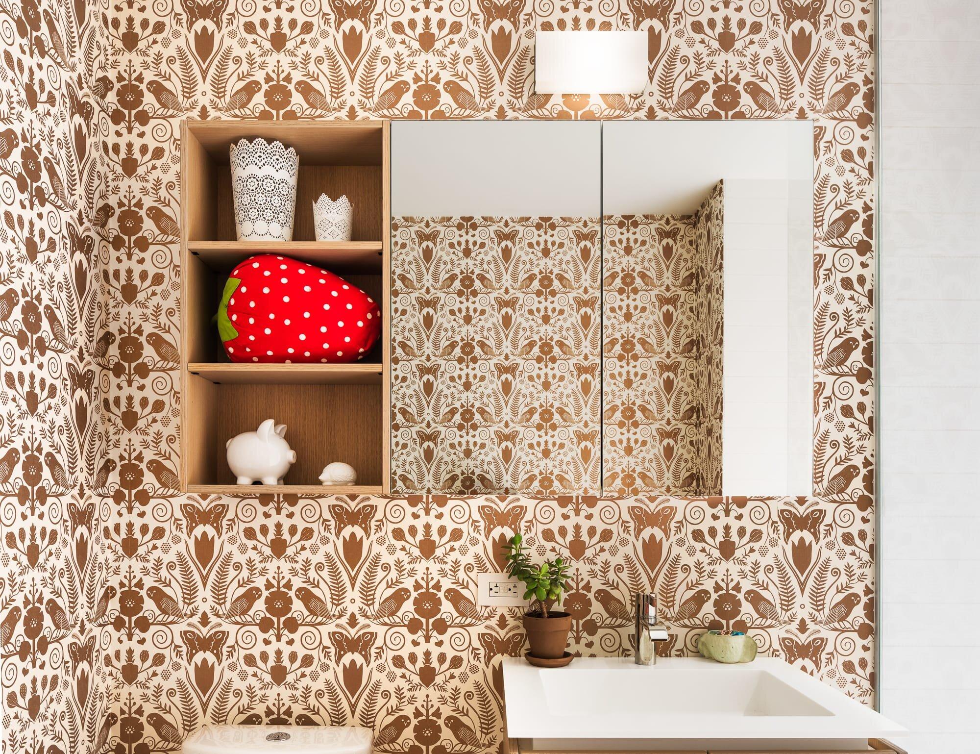 Guest Bathroom details designed by Alloy Development