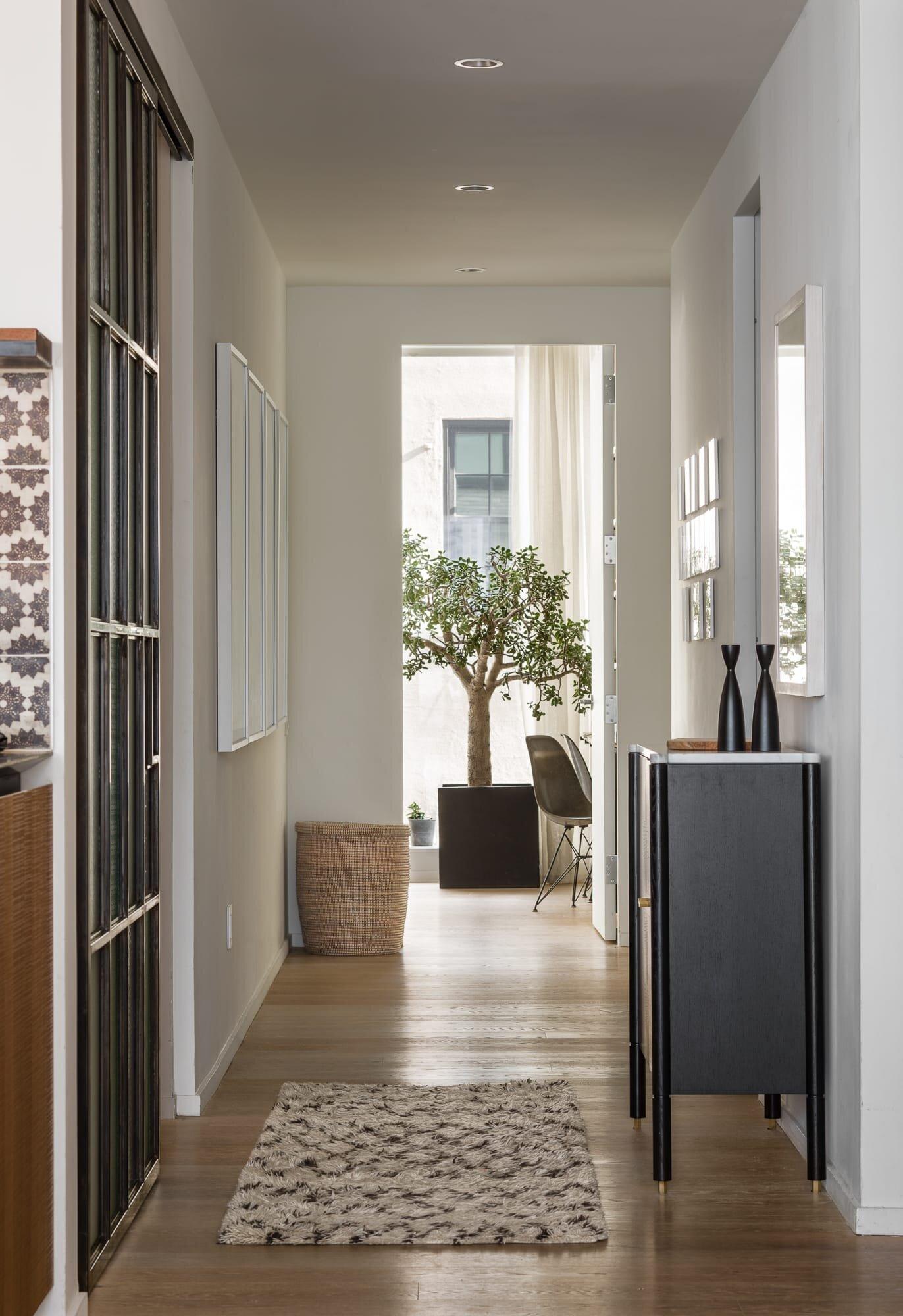 Hallway details by Alloy Development