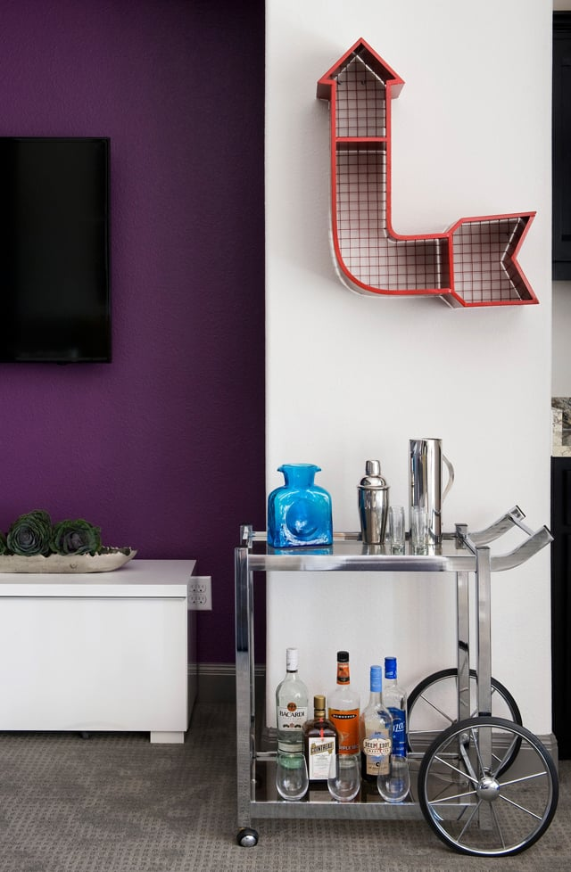Love Your Home Brodie Springs Bar Cart | Robin Colton Interior Design Studio Austin Texas Blog | www.robincolton.com