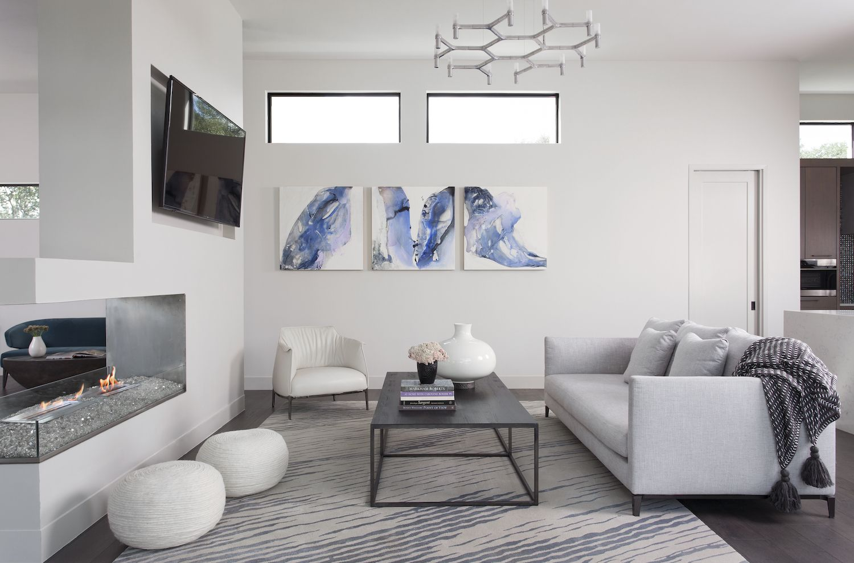 Horseshoe Bay Living Room | Robin Colton Interior Design Studio Austin Texas | www.robincolton.com