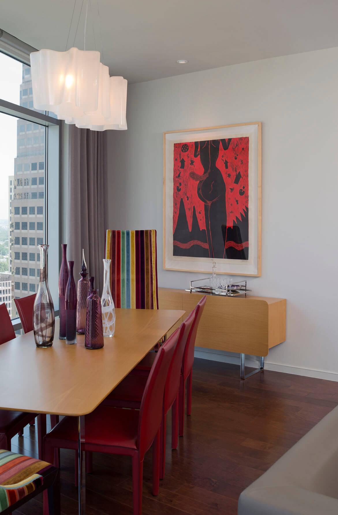 Austonian Dining Room | Robin Colton Interior Design Studio Austin Texas | www.robincolton.com