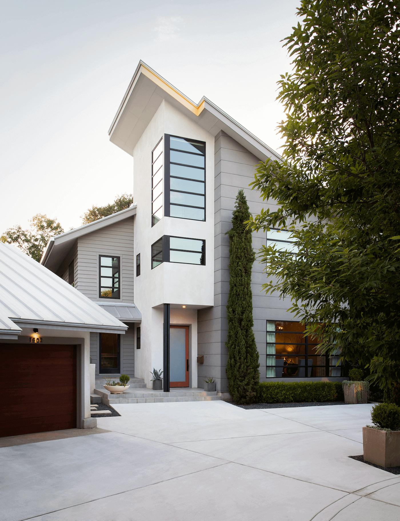 Tarrytown Exterior Front Entry | Robin Colton Interior Design Studio Austin Texas | www.robincolton.com