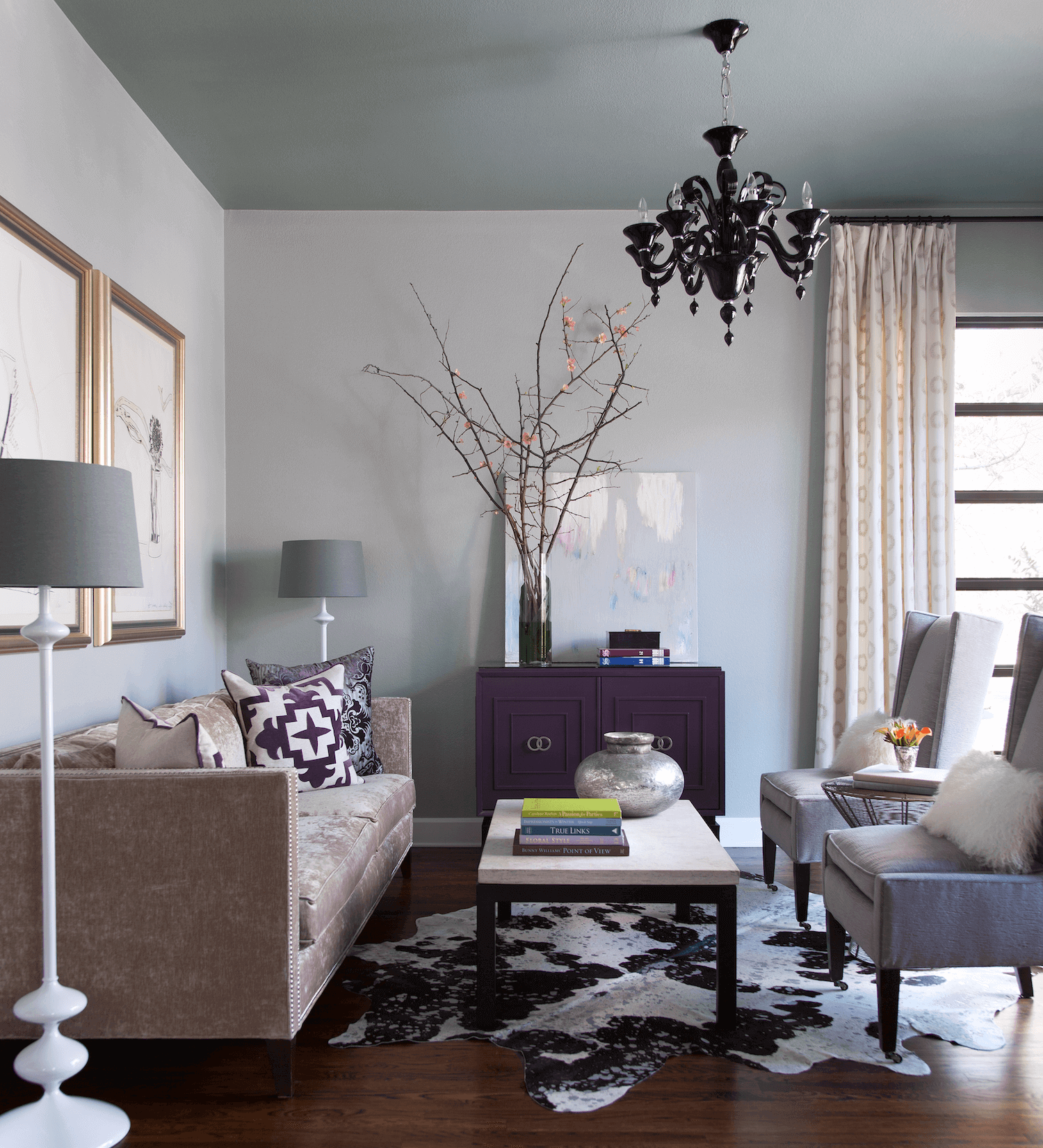 Tarrytown Sitting Room | Robin Colton Interior Design Studio Austin Texas | www.robincolton.com