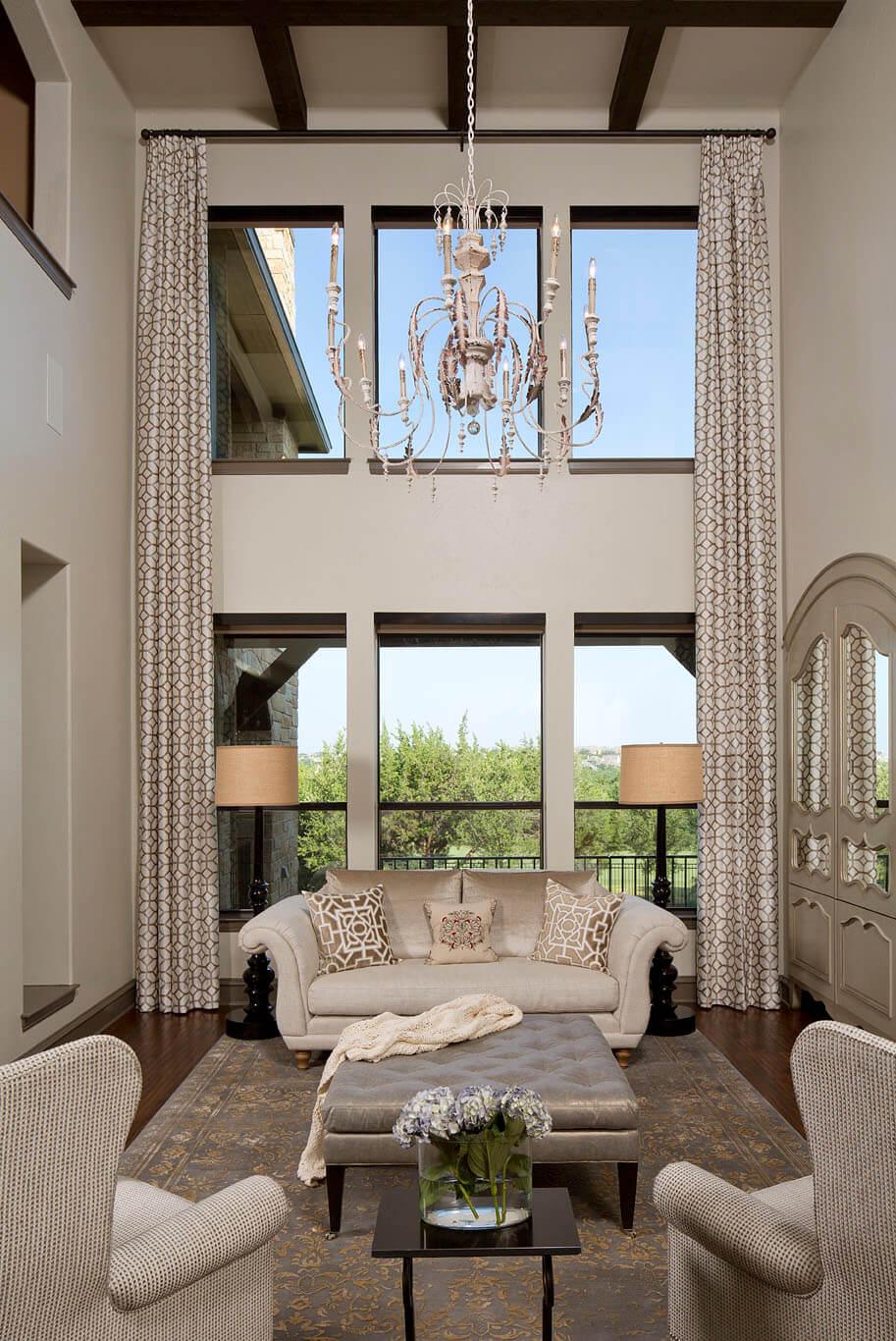 Steiner Ranch Living Room | Robin Colton Interior Design Studio Austin Texas | www.robincolton.com