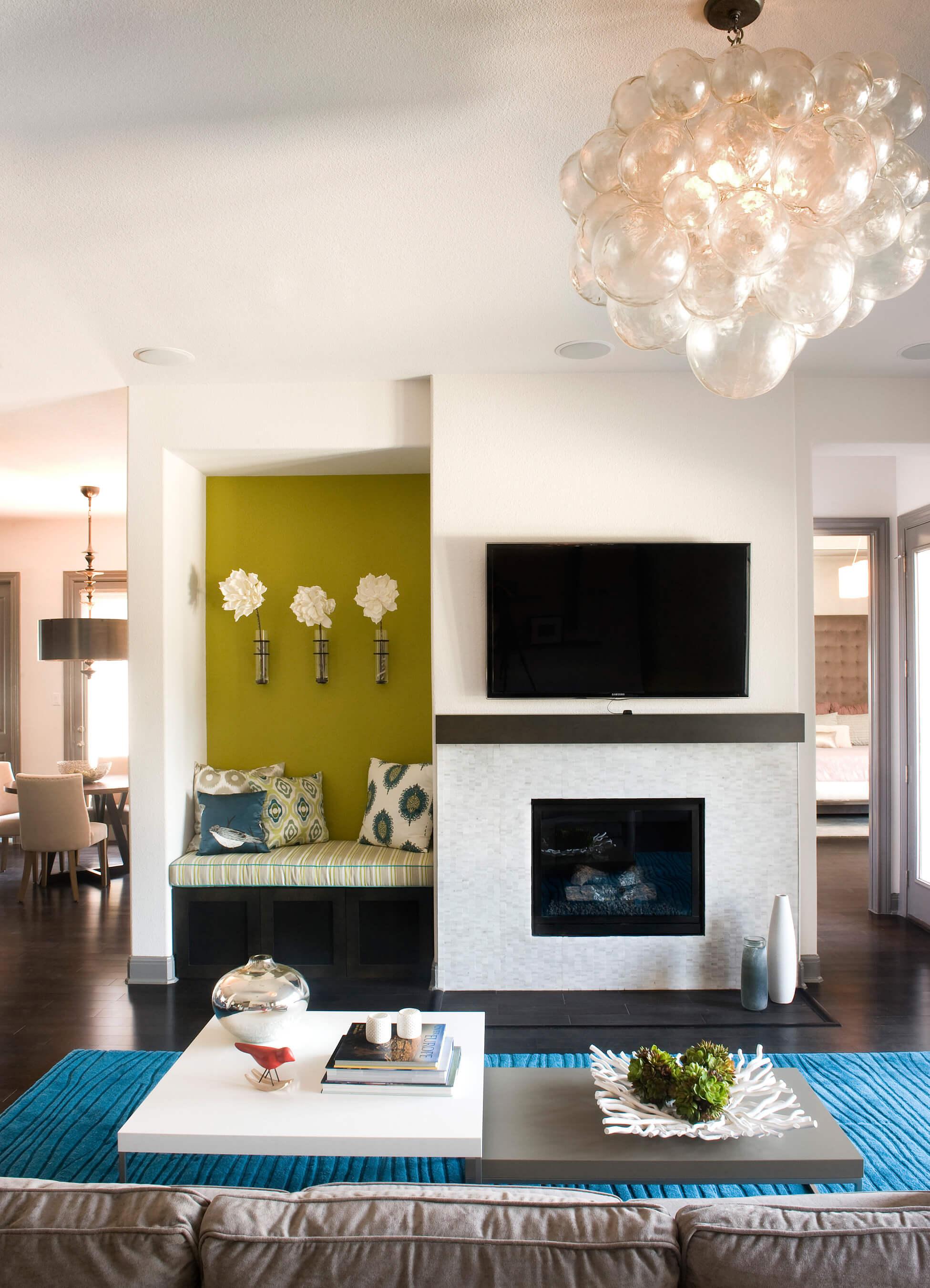 Brodie Springs Living Room | Robin Colton Interior Design Studio Austin Texas | www.robincolton.com