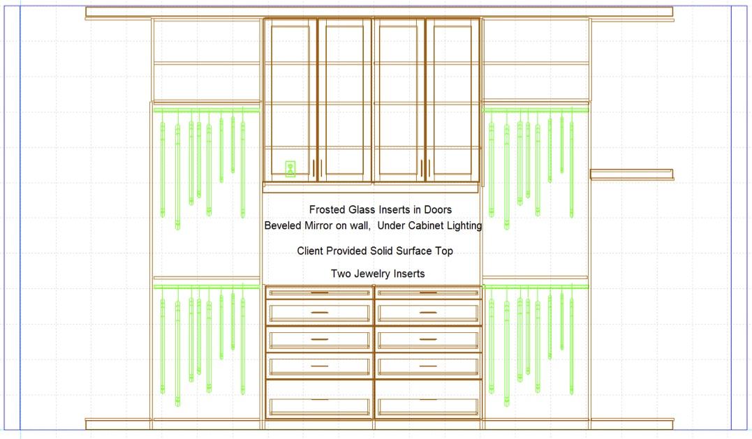 Closet Crush Horseshoe Bay Master Closet | Robin Colton Interior Design Studio Austin Texas Blog | www.robincolton.com