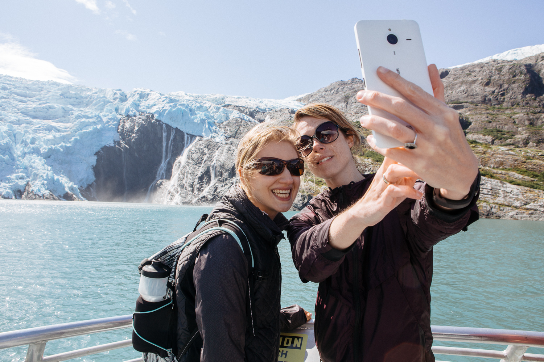 I'm a big fan of busting people shooting selfies. (Shot on my DSLR)