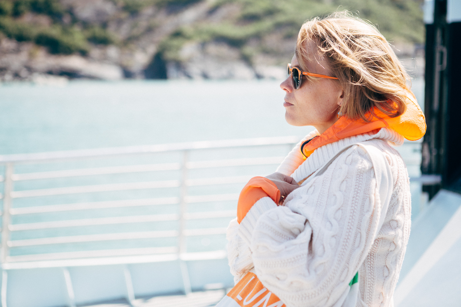 Our trip captain, Tiina, was prepared and also very stylish. (Shot on my DSLR)