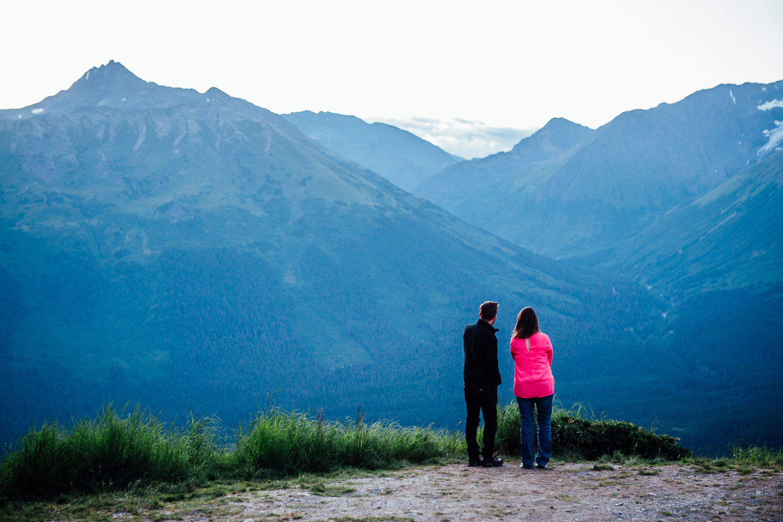 Alaska has this way of making you feel really small. (DSLR)