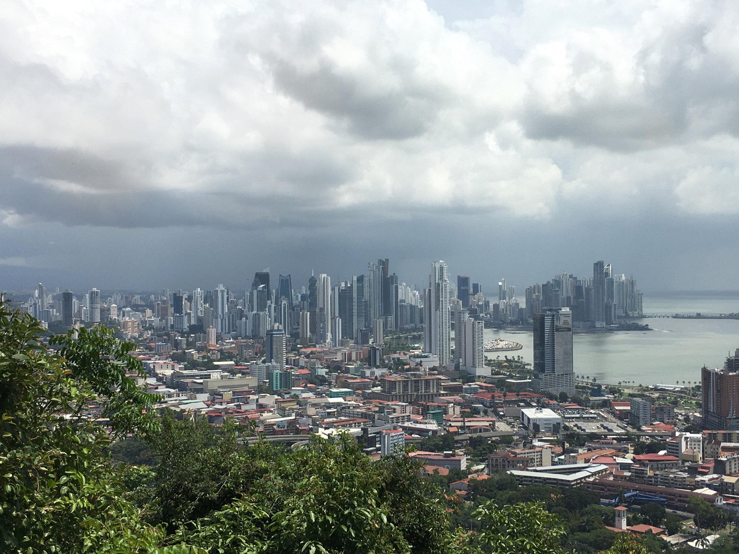 PANAMA CITY (from Alton Hill)