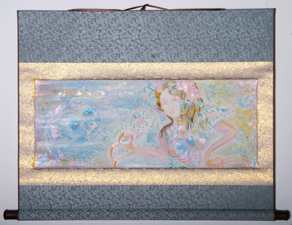 """Digital Lava Lamp Mirror 24""""x33"""" $1250.00"""