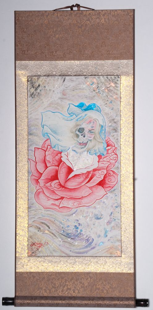 """Rough day for Florence 39""""x19"""" $1250.00"""