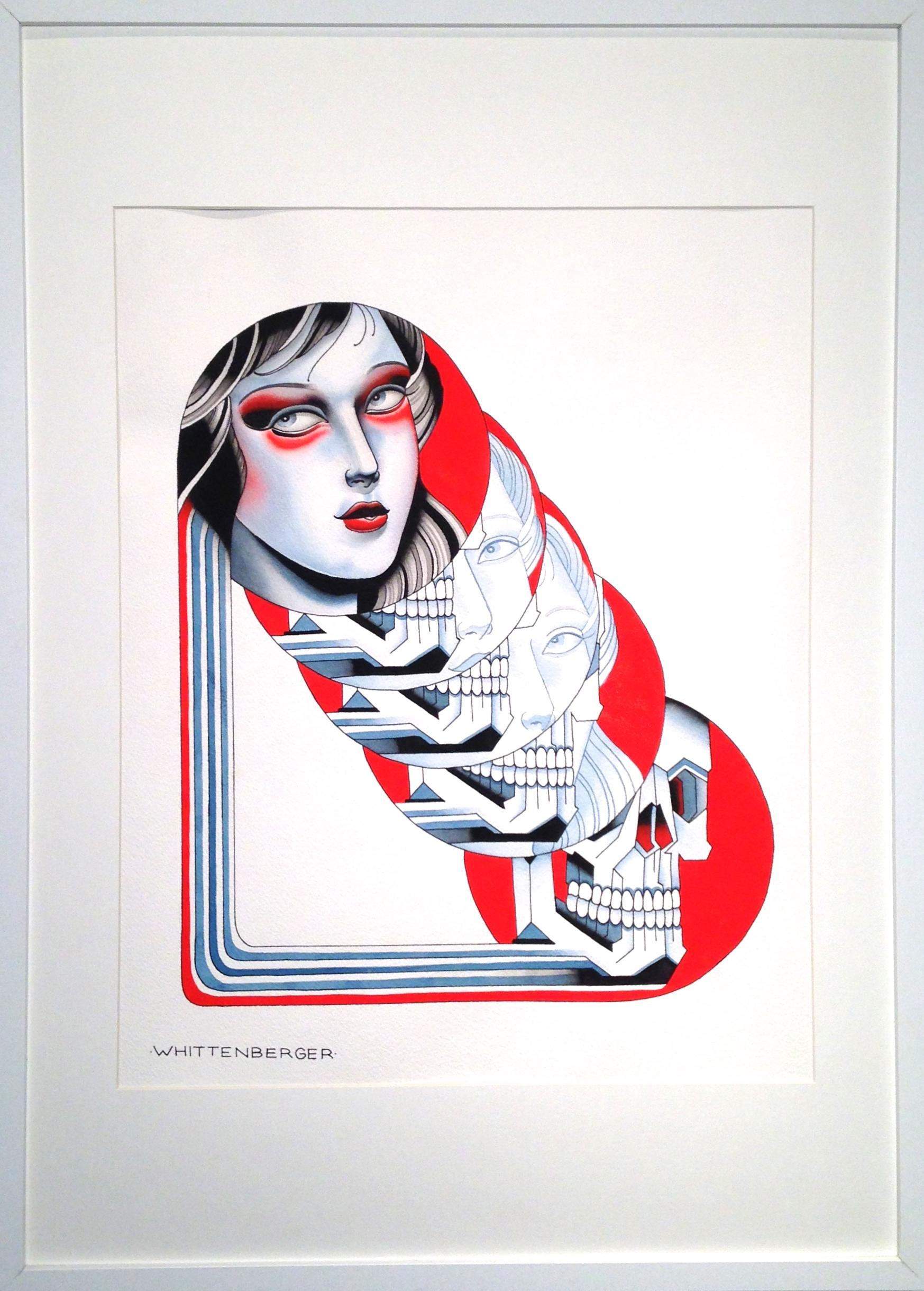 OBERON 19 IN. x 27 in. framed  $400