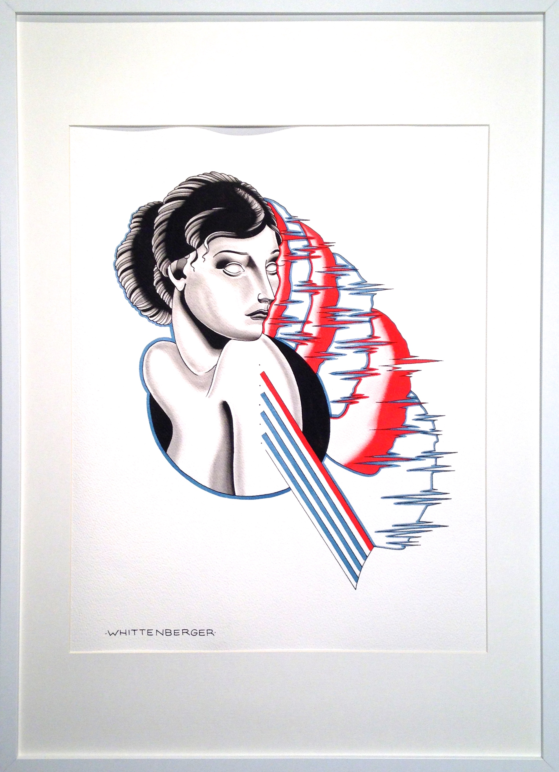 OPHELIA 19 in. x 27 in. framed  $400
