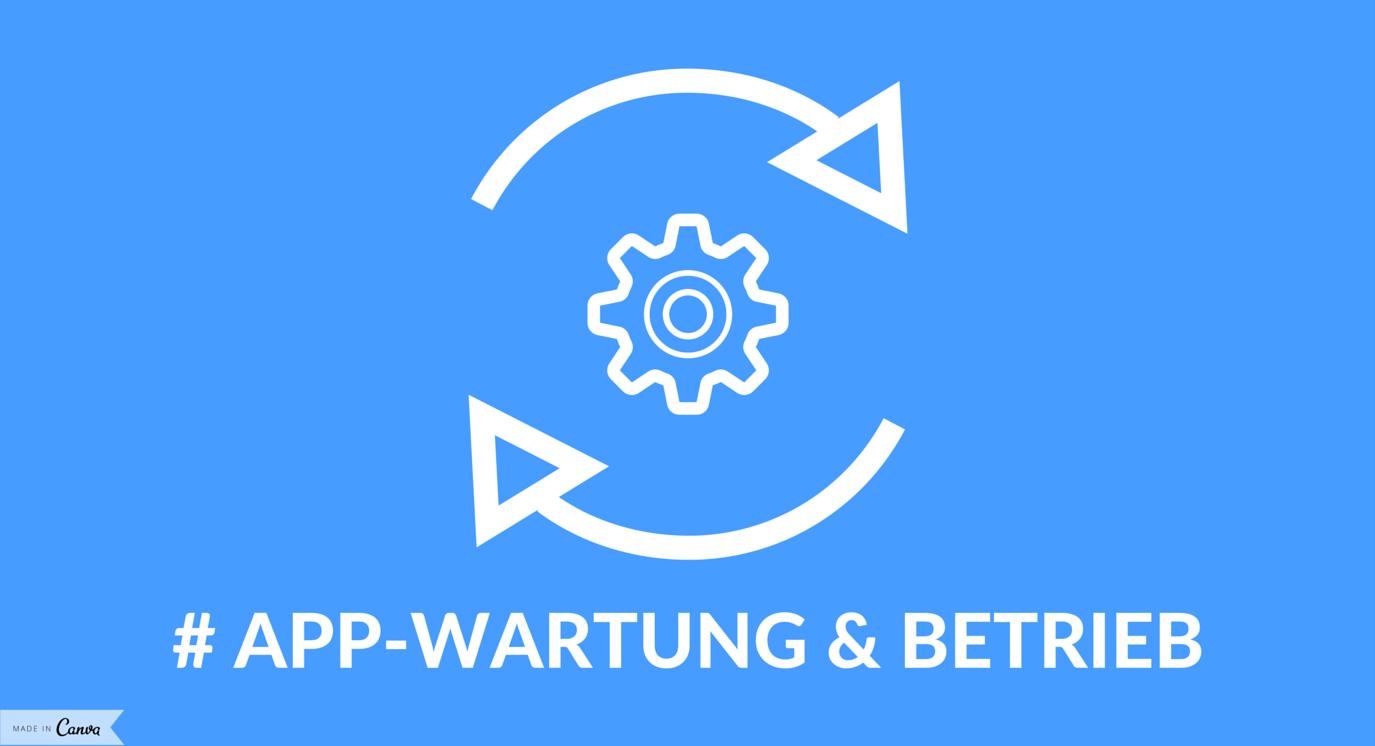 App-Wartung