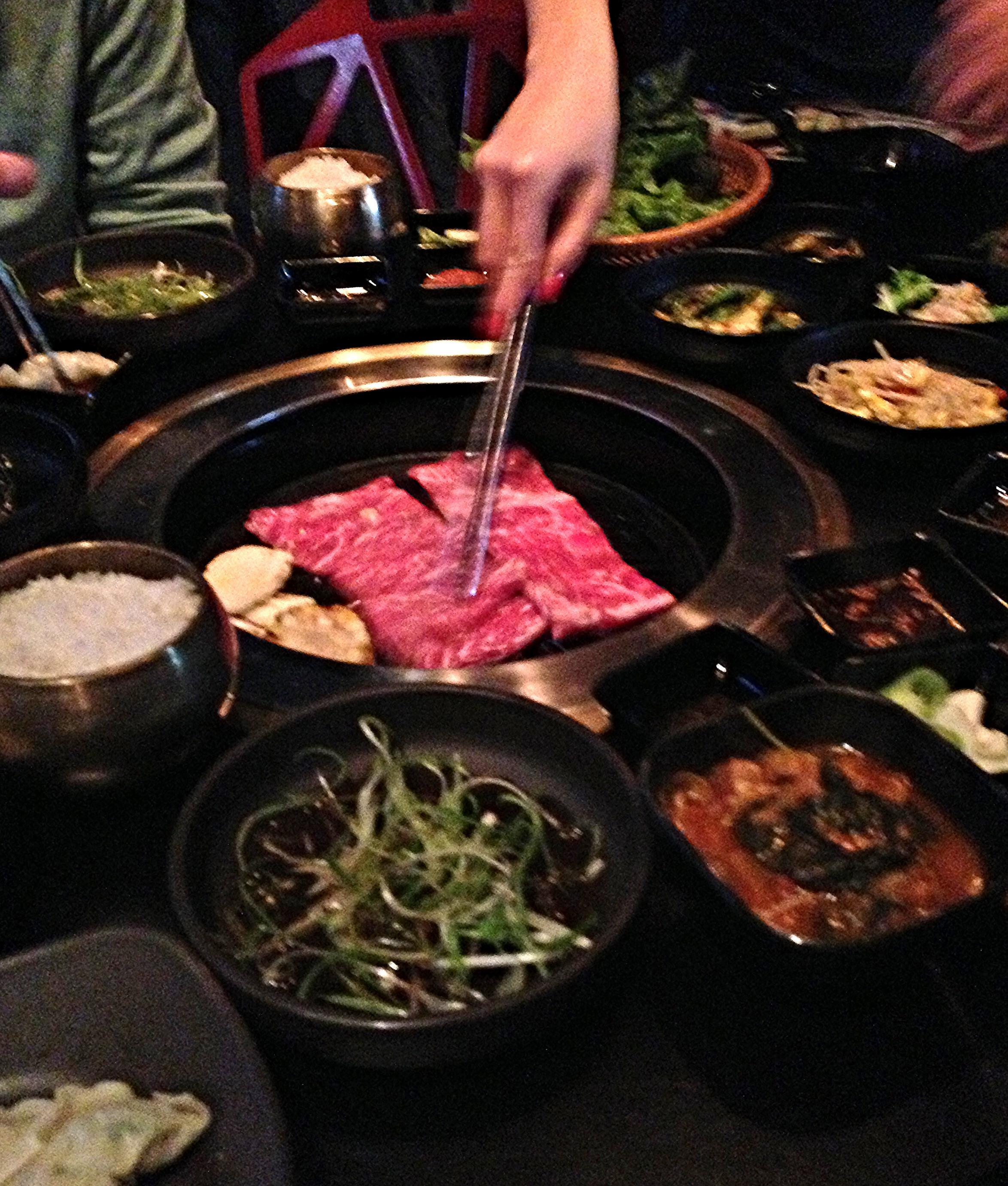 Yummy Korean Barbecue.