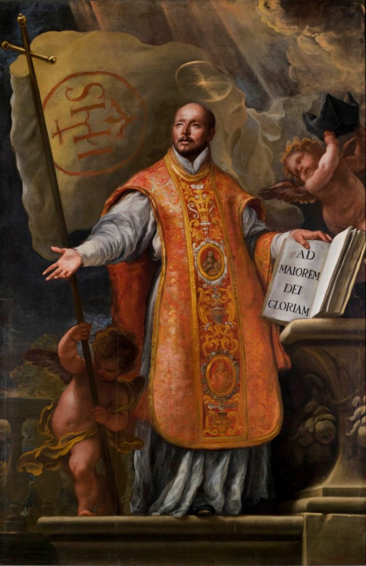 """""""Teach us to give and not to count the cost."""" - Ignatius of Loyola"""