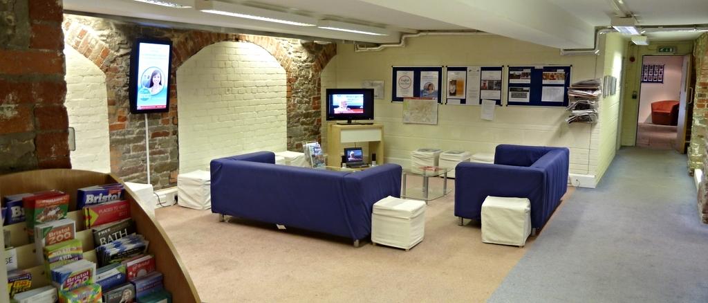 Loungebereich Englischschule Bristol