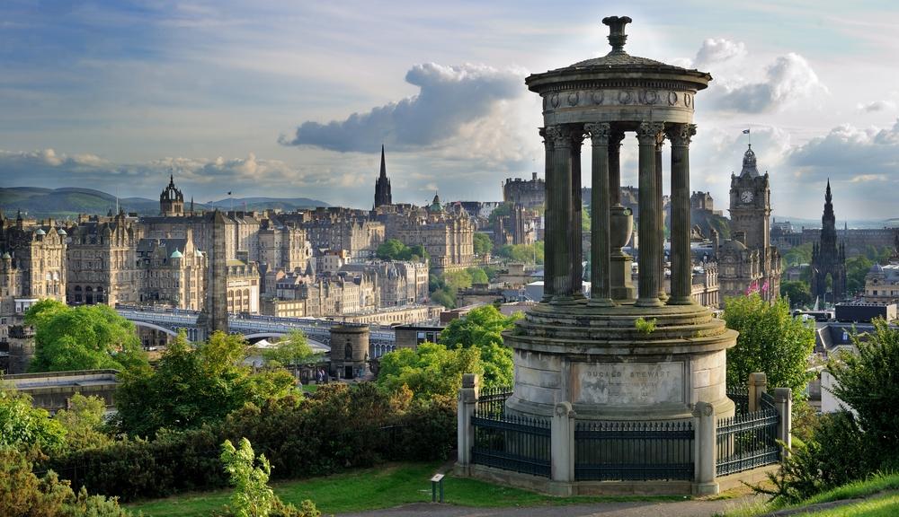 Englisch lernen in der schönste Stadt der Insel - Edinburgh
