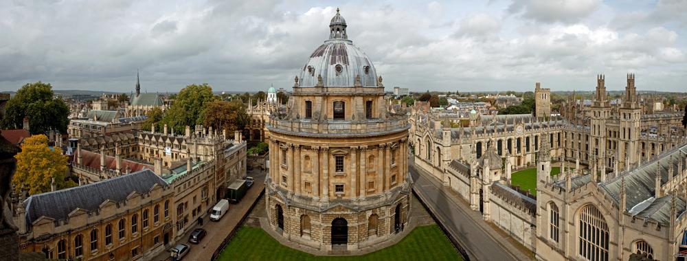 Englisch lernen in Oxford - Geschichte trifft moderne