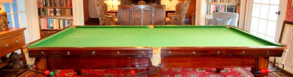 Englisch am Snookertisch