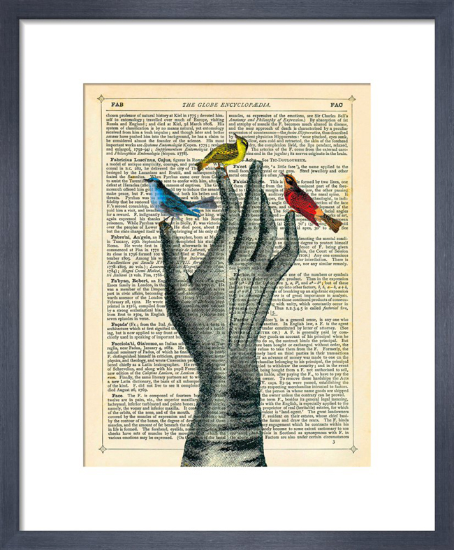 Bird in Hand_framed print from King & McGaw.jpg