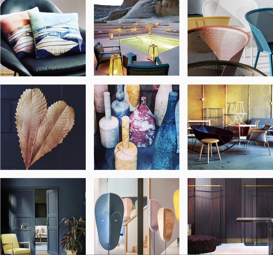 @henriettameyrick - This account is managed by a creative professional—a visual merchandiser and interior stylist to be exact. Furniture, architecture, materials, objects, and textiles are just a few of the visuals. Although this feed only has 140 posts, it seems like there are so many more since every photograph can easily stand on it's own.