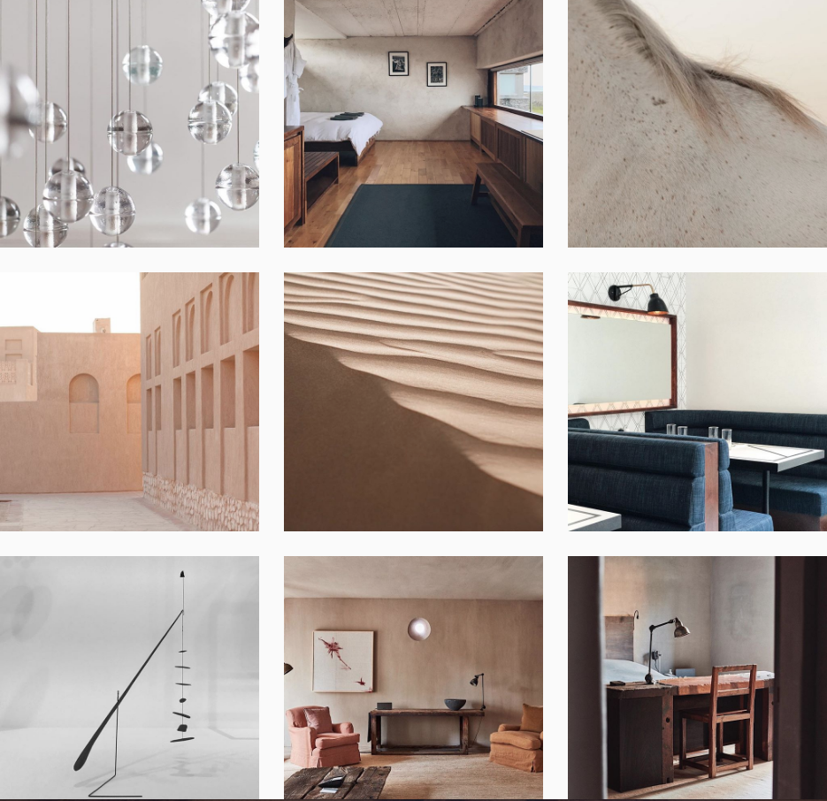 @cerealmag - With a subdued color palette, imagery of foreign lands, and subjects such as a horse's mane, this feed evokes a feeling of being present in the moment and taking notice of beautiful details everywhere.If you have not had the chance to view Cereal Magazine, this publication is just as beautiful as their Instagram feed.