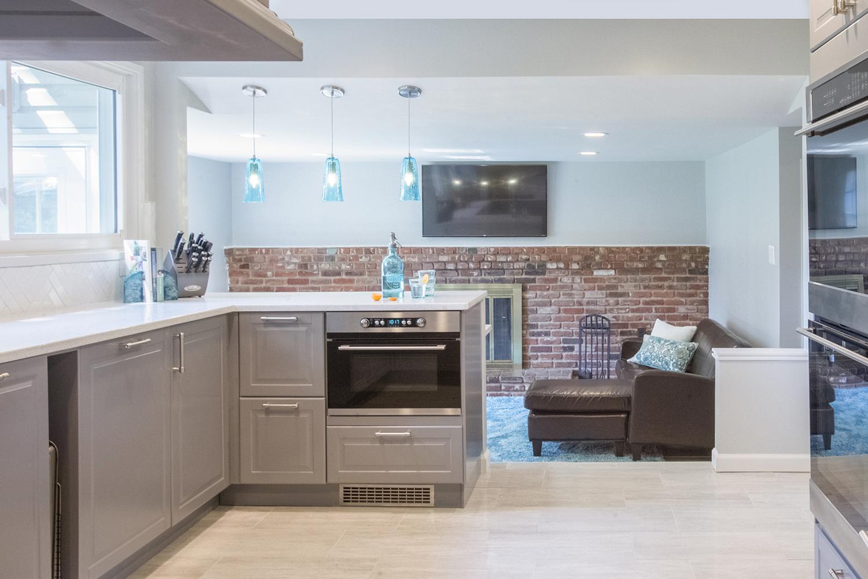 Modern Gray Kitchen Renovation