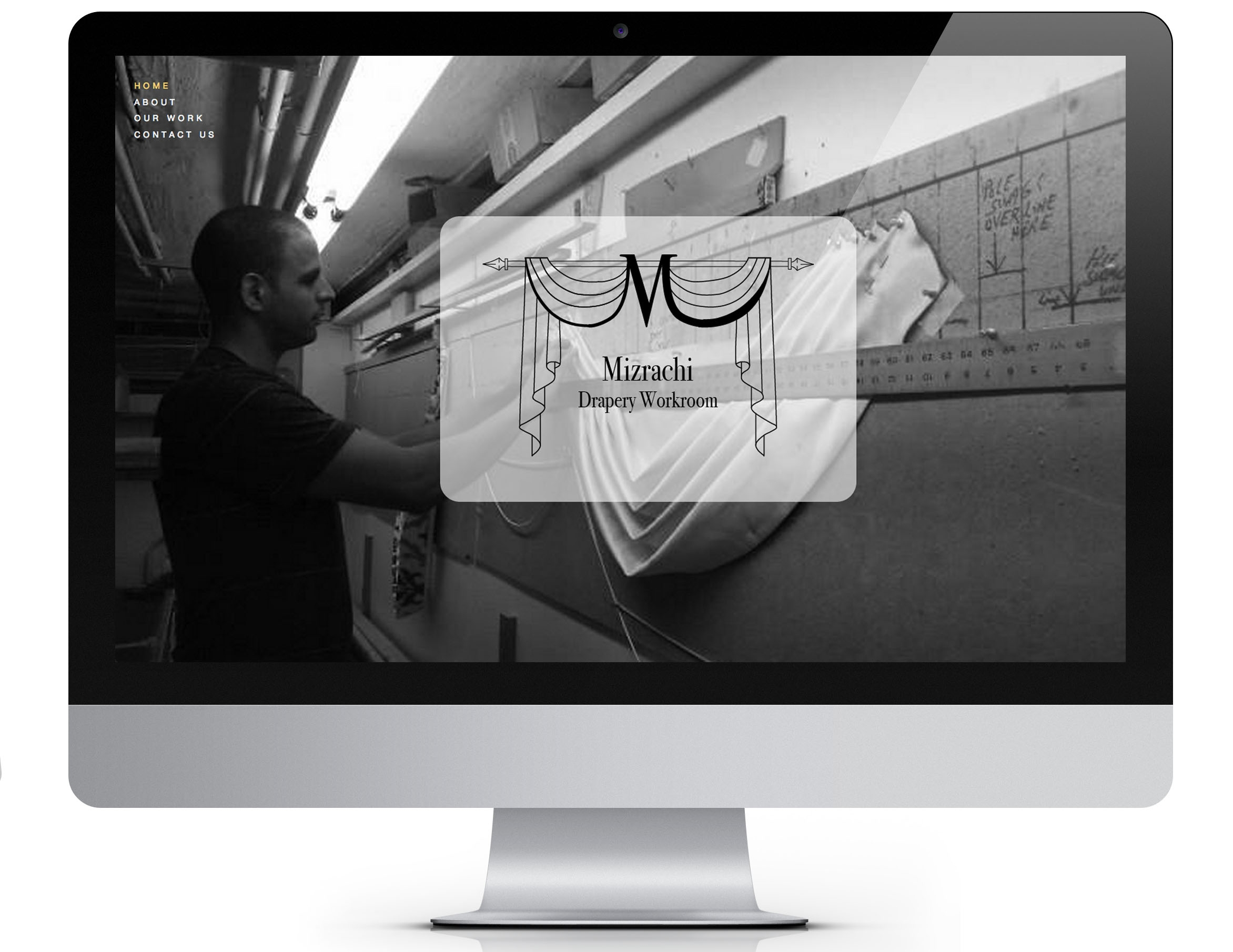 Mizrachi Drapery Website