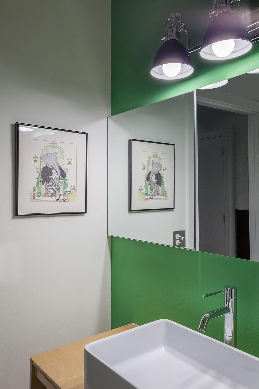Memphis Street Loft - Guest Bathroom