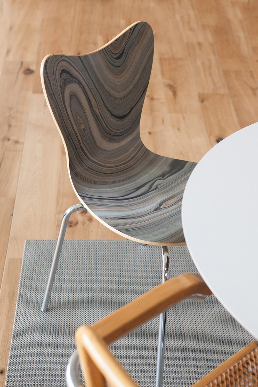 Memphis Street Loft - Dining Chair Detail