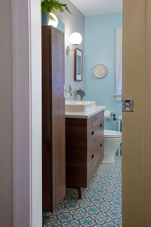 Pitman Bathroom After