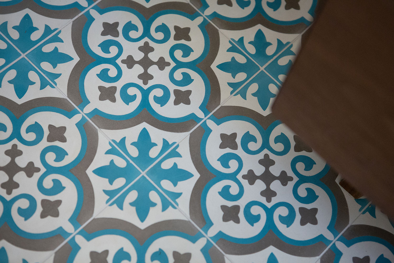 Patterned Cement Tile