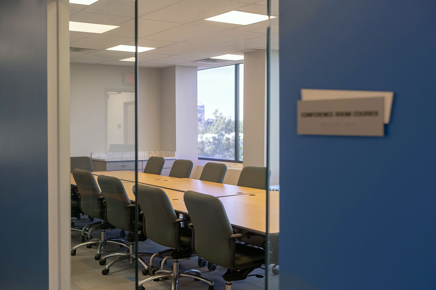 Courier Conference Room