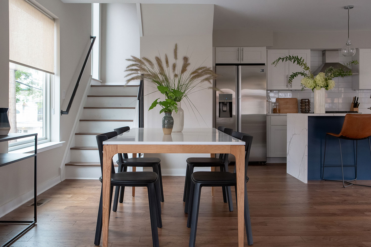 Newlywed Dining Room and Kitchen