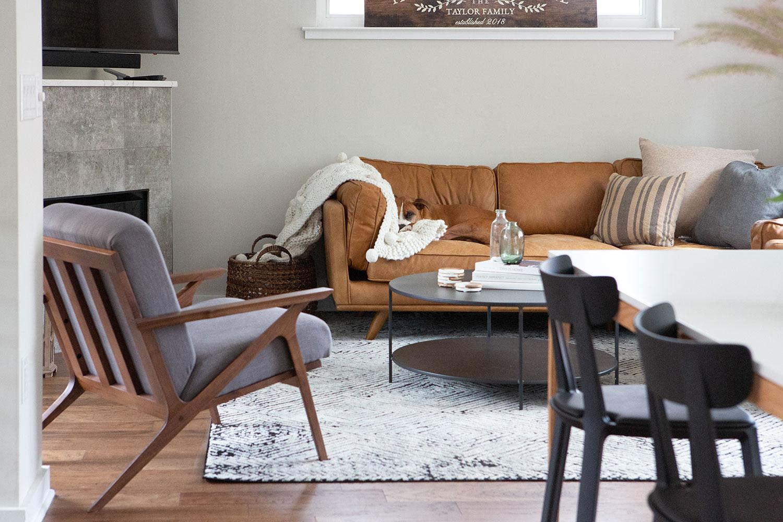 Newlywed Dining + Living Room