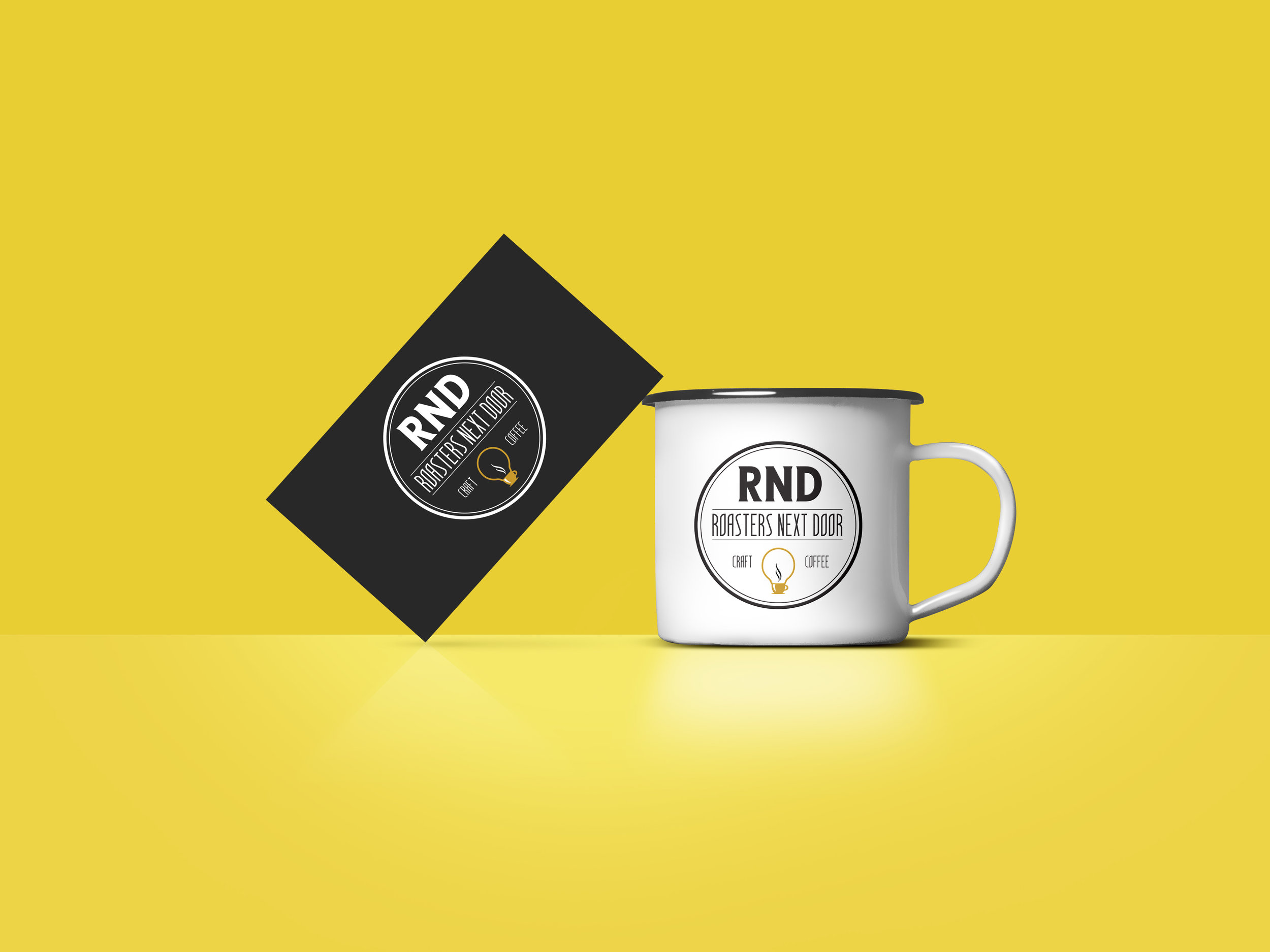 Freelance project for RND Coffee - a brand that marries Science and Coffee!