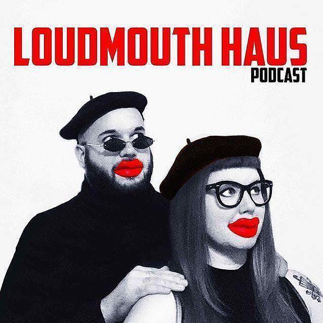 This week we have a friend!! Lauren's friend Sara tells us all about her crazy Los Angeles stories.⠀ .⠀⠀⠀⠀ #loudmouthhauspodcast #podcast #losangeles #detroit #holiday #movies #karaoke #ktown #album #albumcover #squad #squadgoals #fun #design #graphic #red #blackandwhite #bw #photo #photography #portraite #friendship #comedy #chicago #glowup #storytime #party #michigan #biglips #fashion
