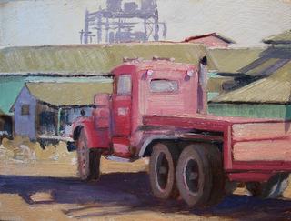 Mill Flat Bed Truck