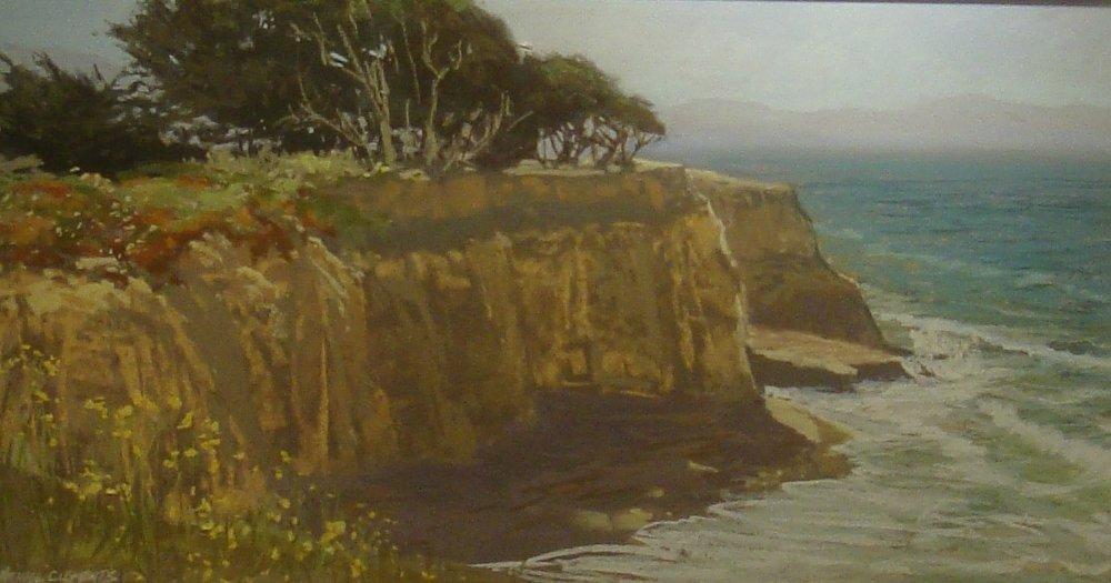 Cliffs at Davenport, California
