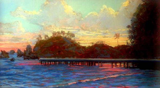 Daybreak at Hana Harbor