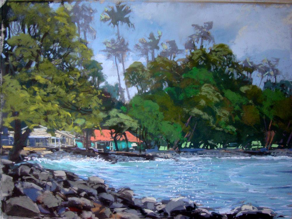Lahaina Shore and Aloha Mixed Plate