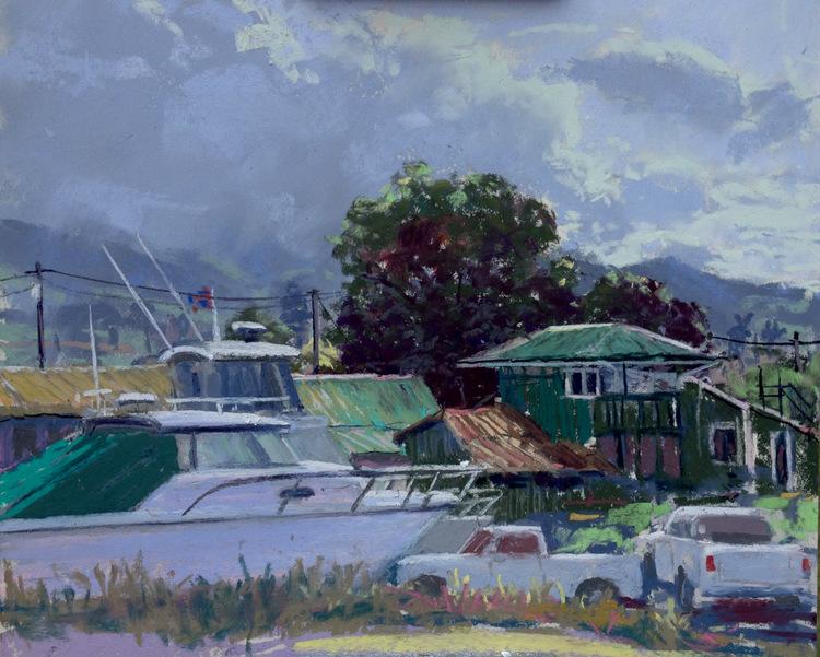 Mala Boat Yard in Lahaina