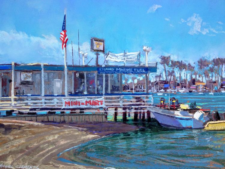Island Marina, Balboa Island