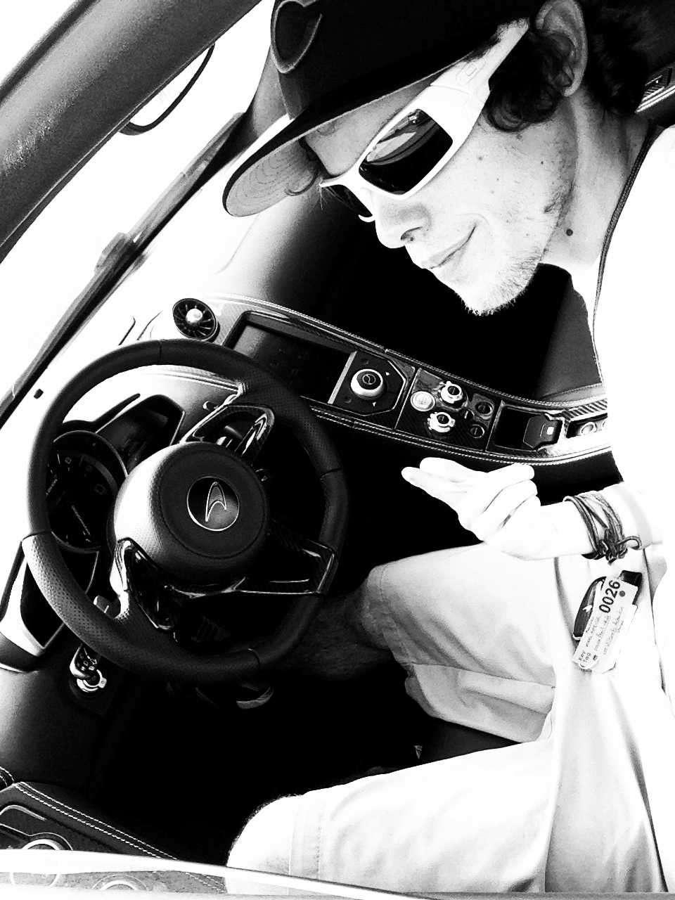MindBlown, Driving the McLaren!