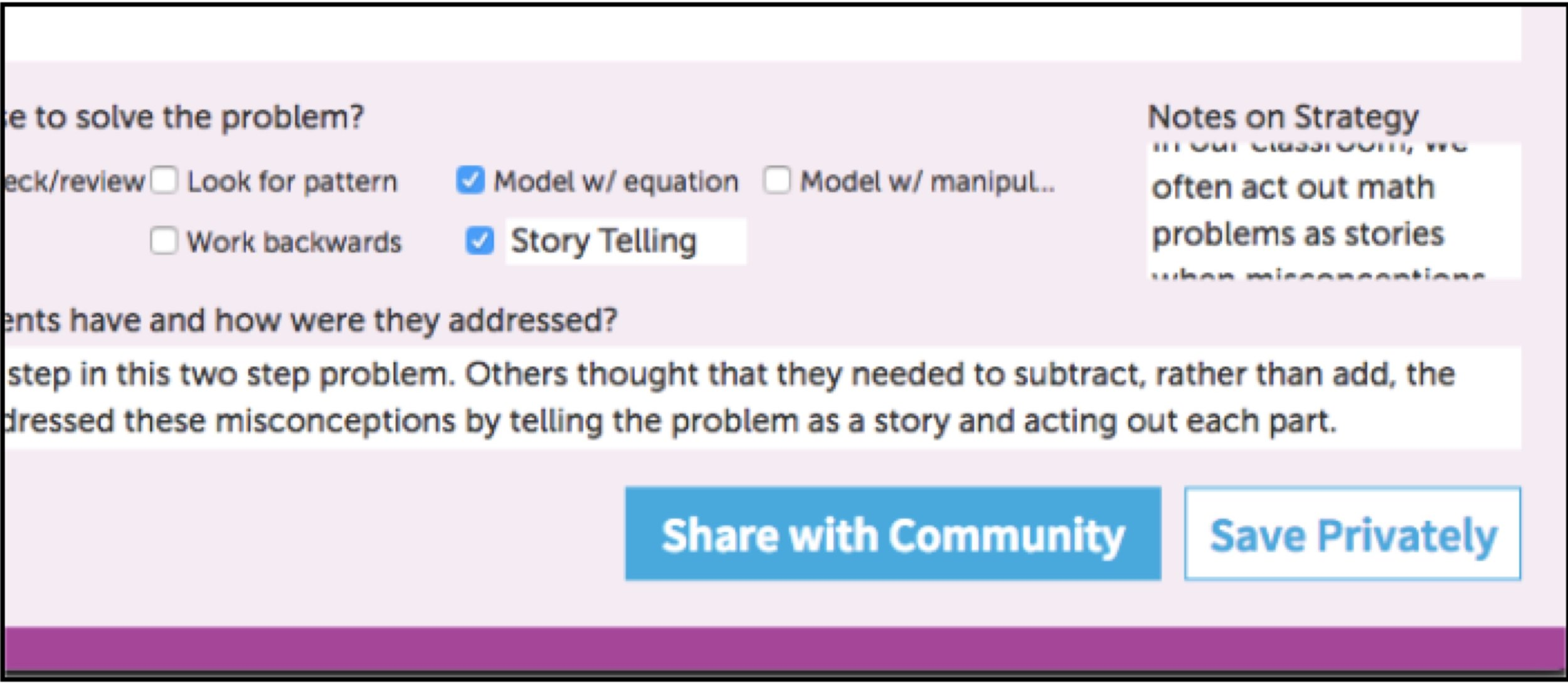Easily Share Notes and Reflections with Other Teachers