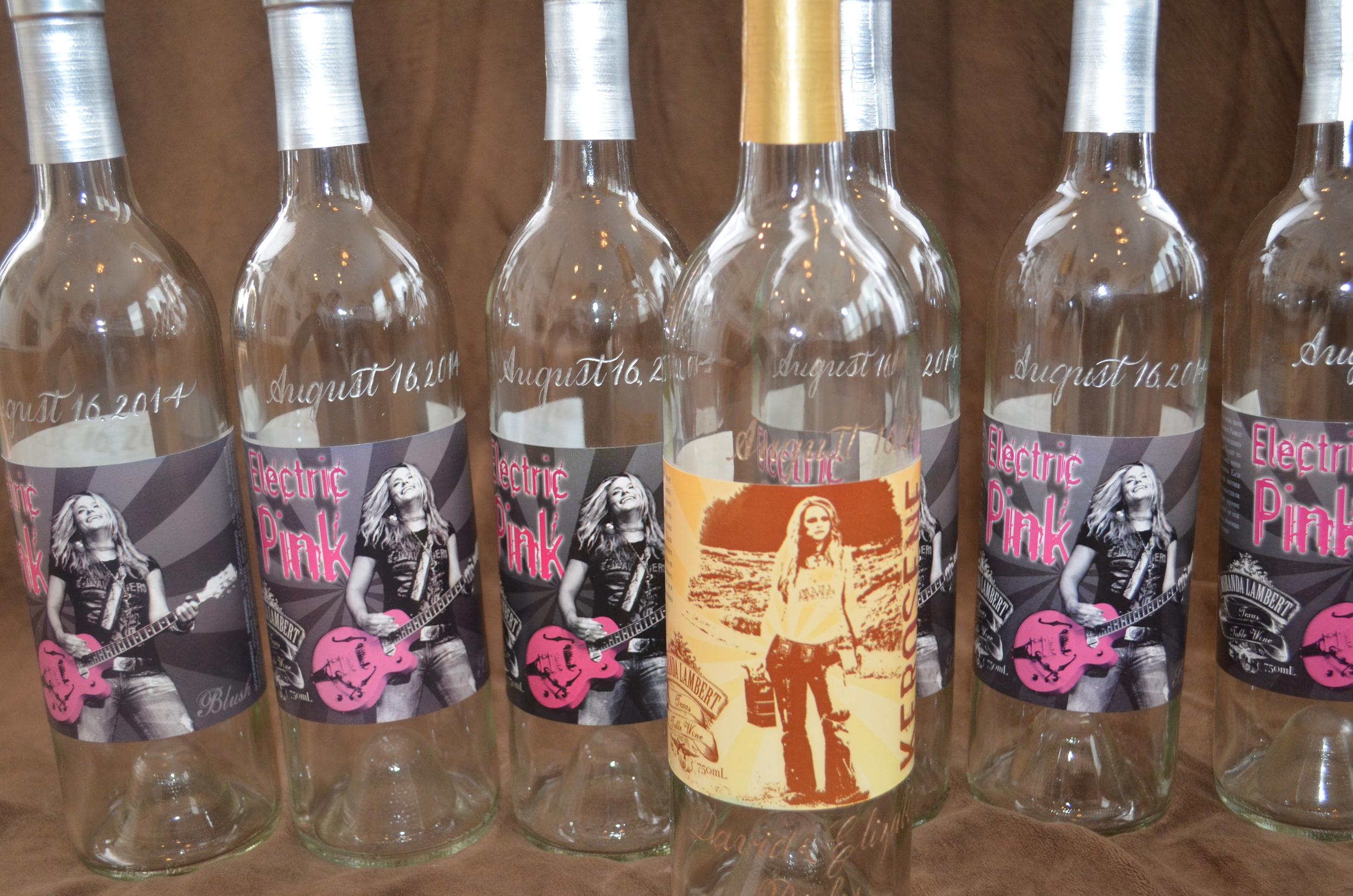 Wine bottle engraving houston calligraphy.JPG