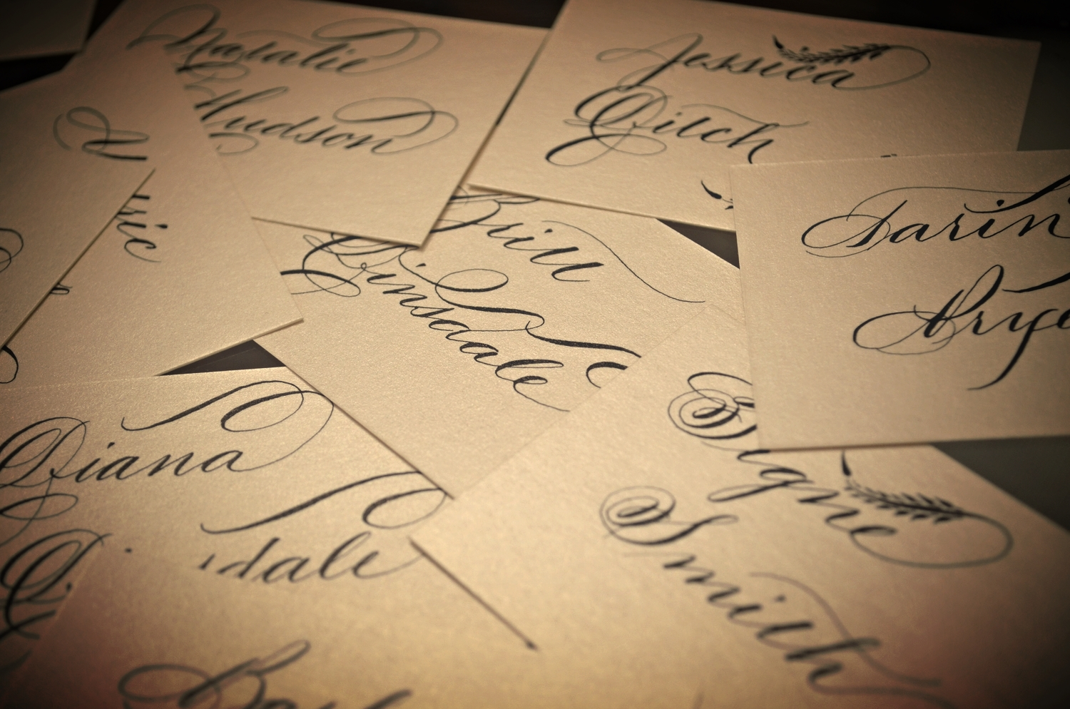 Houston Wedding Calligraphy.JPG