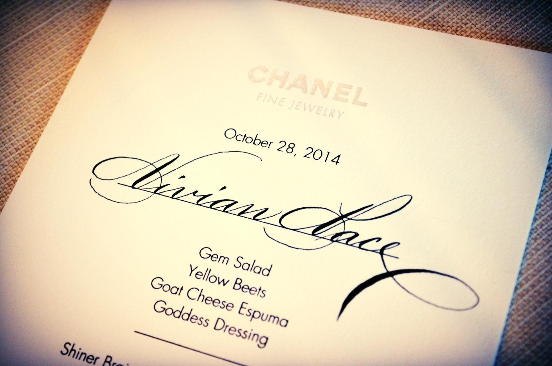 Houston Calligrapher Chanel.JPG
